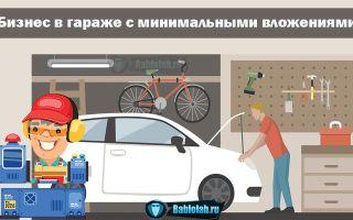 Как открыть свой бизнес в гараже с минимальными вложениями: ТОП-10 идей прибыльного бизнеса в своем гараже