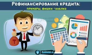 Рефинансирование кредита — что это такое: ТОП-7 банков для перекредитования потребительского кредита под меньший процент + условия